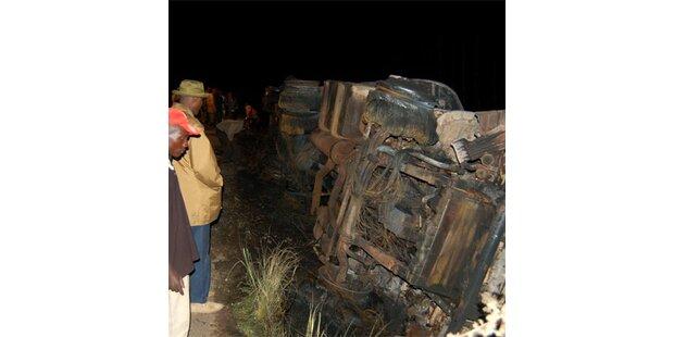 Mindestens 122 Tote bei Lkw-Brand in Kenia