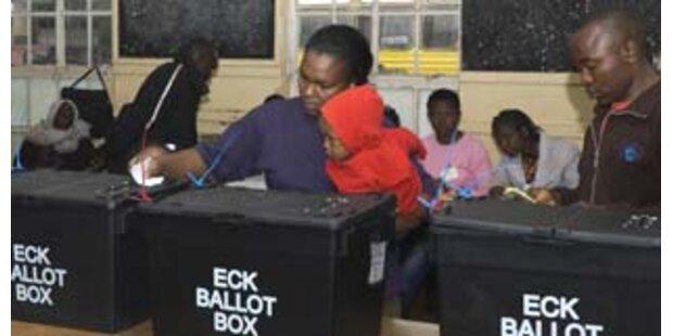 Zwei Tote bei Präsidentenwahl in Kenia
