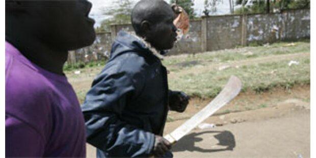 Unruhen nach Wahl in Kenia