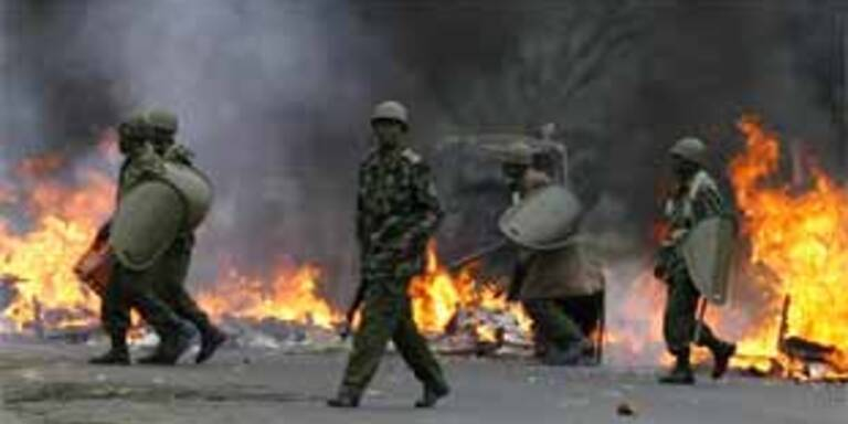 Mehr als 100 Tote nach Wahlen in Kenia