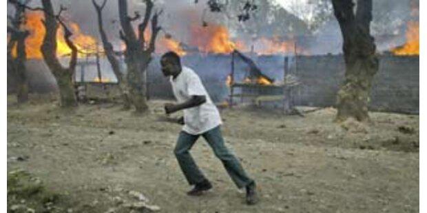 Unruhen in Kenia während Vermittlungsbemühungen