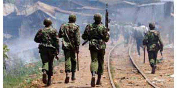 Schießbefehl für Polizei in Kenia