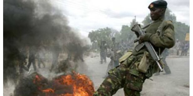 Streithähne in Kenia einigen sich auf Friedensplan