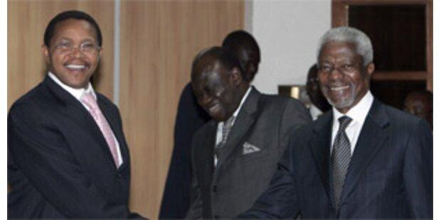 Konfliktparteien erzielen Einigung in Kenia
