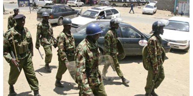 48 Tote bei Zusammenstößen in Kenia