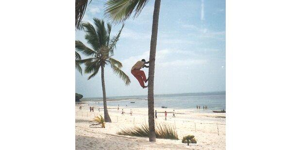 Sex am Strand - ab in den Knast!