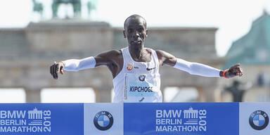 Wunder-Weltrekord bei Berlin-Marathon geknackt
