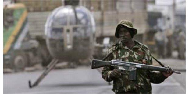 Polizei erschießt Demonstranten in Nairobi