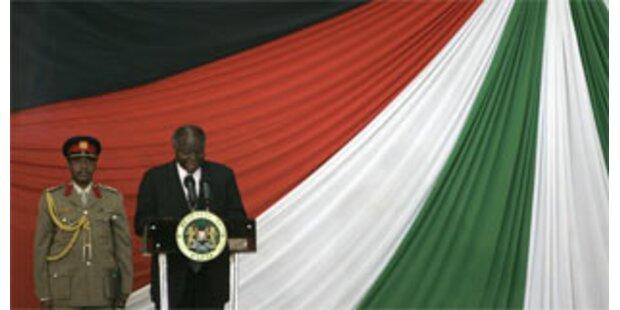 Opposition an Regierung in Kenia beteiligt