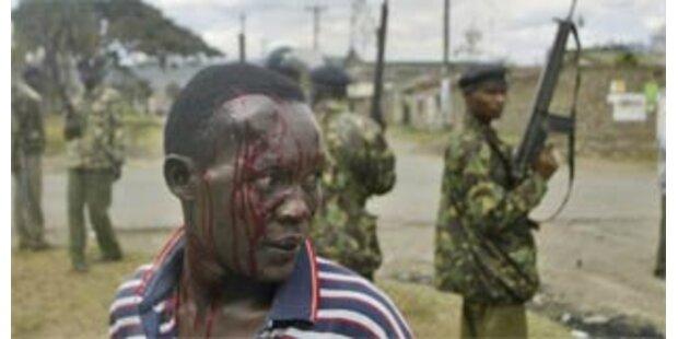 800 Tote bei Unruhen in Kenia