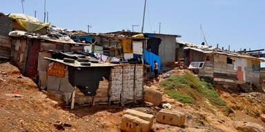 In den kenianischen Slums gibt es kaum Toiletten