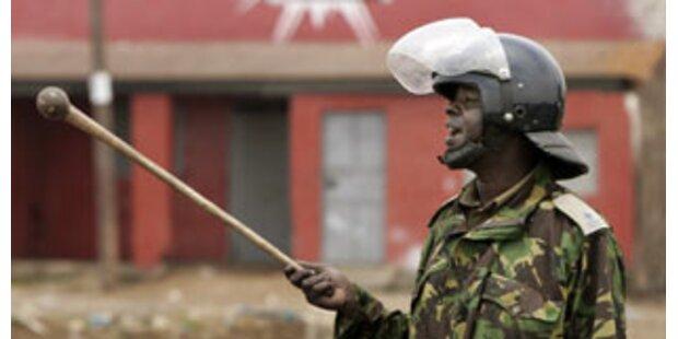 Menschen tot gehackt bei Zusammenstößen in Kenia
