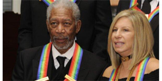 Kennedy-Preise für Freeman, Streisand, The Who