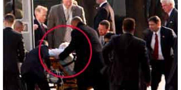 Ted Kennedy bei Obama-Eid zusammengebrochen