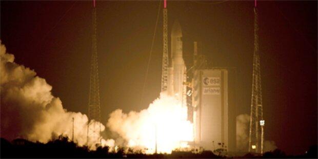 Raumtransporter bringt Nachschub zur ISS