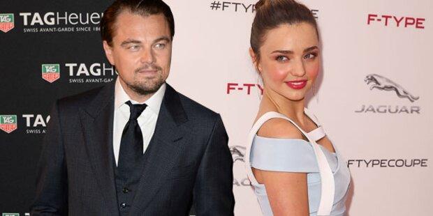 Miranda Kerr: Läuft was mit Leo DiCaprio?