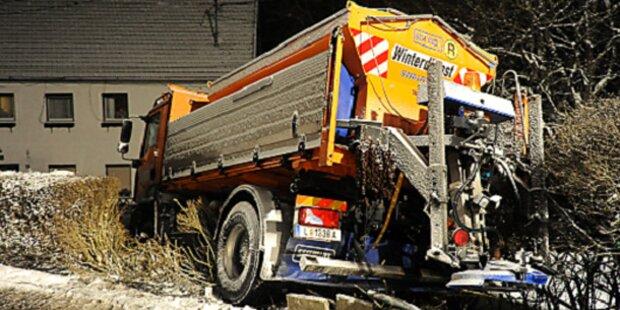 Schnee-Unfälle: Zwei Schwerverletzte in OÖ