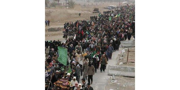 Millionen Schiiten pilgern zu Feier nach Kerbala