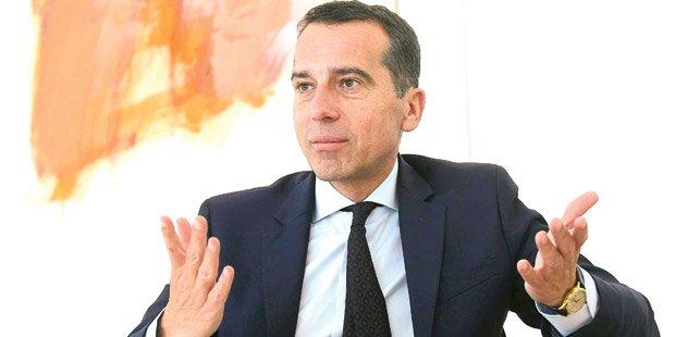 Kanzler Kern geht von Wahltermin im Herbst 2018 aus
