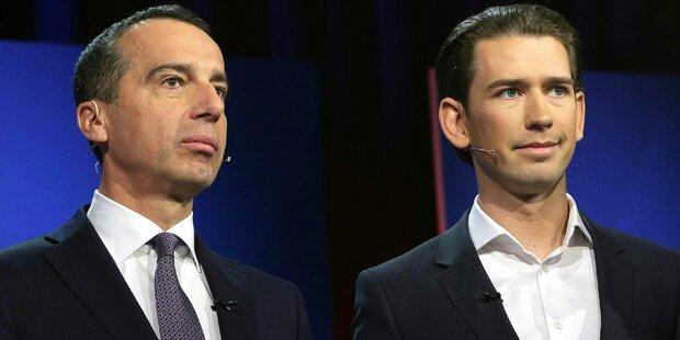 Jetzt klagen sich ÖVP und SPÖ gegenseitig