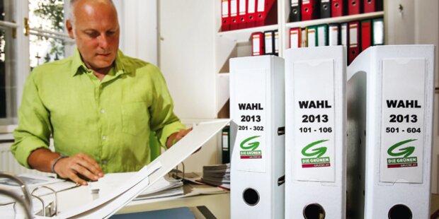 Grüne öffnen Buchhaltung: 4,4 Millionen Euro für Wahl