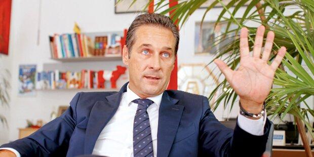 Straches Appell: »Wer raunzt, hilft der Regierung«