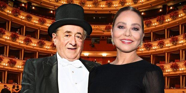 Italo-Diva rettet Lugners Opernball