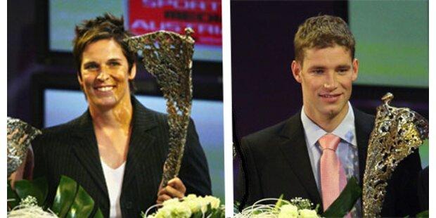 Dorfmeister und Raich Sportler des Jahres