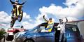 """Der Nissan NV200 gefiel nicht nur der Stunt-Familie Liebe, sondern auch den """"Van of the Year""""-Testern."""