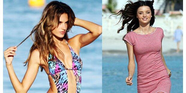 Zwei sexy Engel für Victoria's Secret