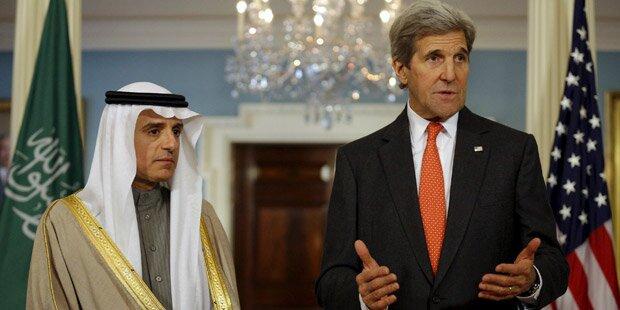 Kerry und al-Jubeir: Waffenruhe in Syrien
