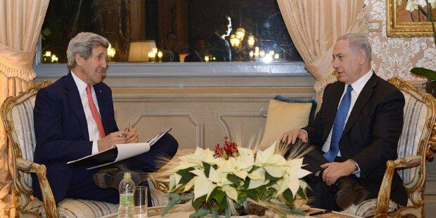Netanyahu trifft Kerry in Rom