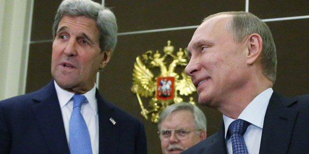 Syrientreffen: Kerry und Lawrow am Freitag in Wien