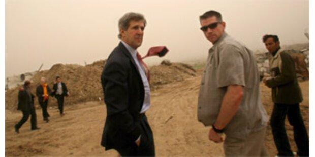 Kerry zu Besuch im Gazastreifen
