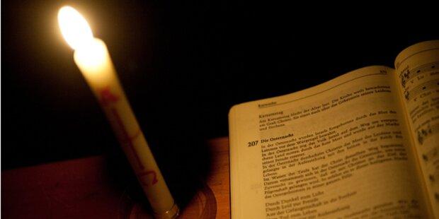 Kerzenleuchter aus Kirche gestohlen