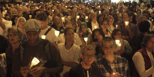 New York: Solidarität mit Muslimen