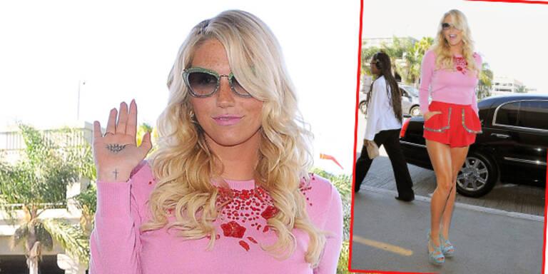 Kesha strahlt als Knallbonbon