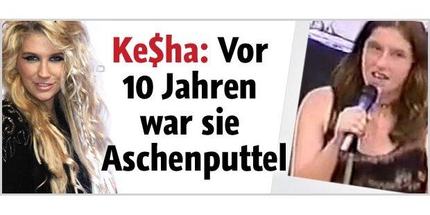 Ke$ha: So fad und schüchtern war sie mal
