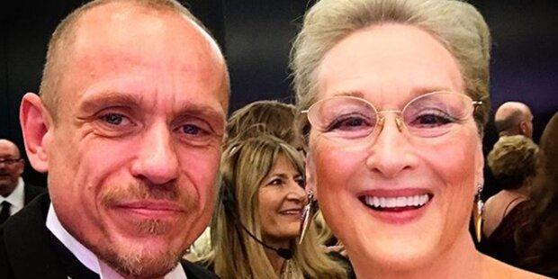 Oscar: Gery Keszler feierte mit Idol