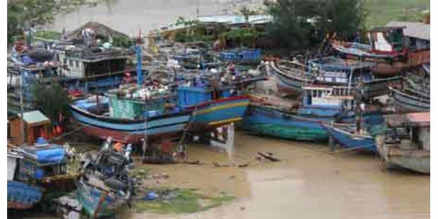 Ketsana wütet jetzt in Kambodscha