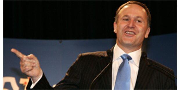 Konservative gewinnen in Neuseeland