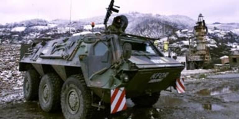 NATO will Kosovo-Schutztruppe aufstocken