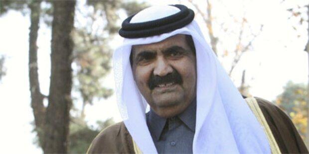 Emir von Katar besucht Österreich