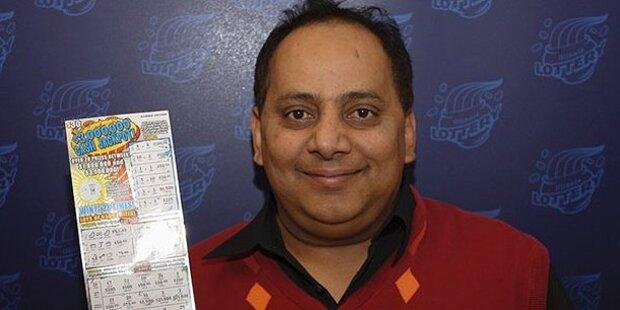 Lottogewinner mit Zyanid vergiftet
