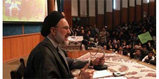 Khatami will iranischer Präsident werden