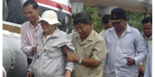 Ex-Khmer-Führer wegen Völkermordes vor Gericht