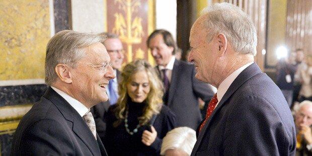 Hofburg-Wahl: Duell der Altkanzler