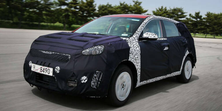 Kia Niro: Kompaktes Hybrid-SUV kommt