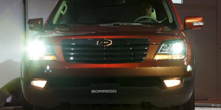 V8-Power im neuen Kia Borrego