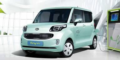 Kia bringt das Elektroauto Ray EV